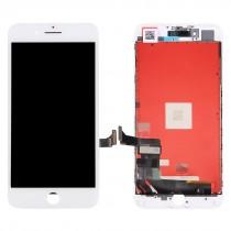 Οθόνη LCD και Digitizer Μηχανισμός Αφής για iPhone 7 Plus - Λευκή